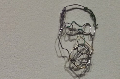 Picture of Kern Ramble (as wire sculpture)